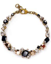 Sorrelli Swarovski Crystal Tennis Bracelet - Black
