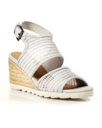 Eileen Fisher Platform Wedge Espadrille Sandals - Whisper - Bloomingdale's Exclusive