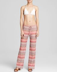 Moon & Meadow - Zig Zag Knit Drawstring Trousers - Bloomingdale's Exclusive - Lyst