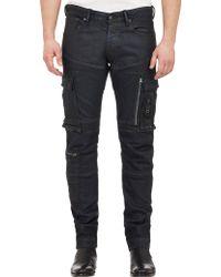 Ralph Lauren Black Label Five-Pocket Cargo Jeans - Lyst