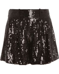 Diane von Furstenberg Aleah Shorts - Lyst