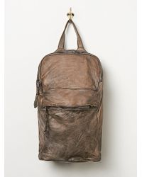 Free People Giogrio Brato Leather Backpack - Lyst