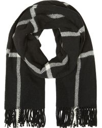 Etudes Studio - Black And Ivory Perspective Year Scarf - Lyst