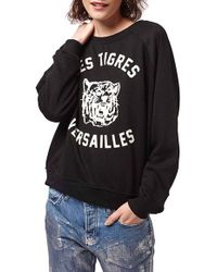 Topshop | 'versailles' Sweatshirt | Lyst