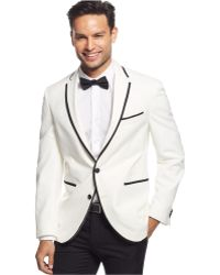 Kenneth Cole White Evening Slim-Fit Sport Coat - Lyst