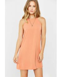 Cooperative - High Neck Scallop Frock Dress - Lyst