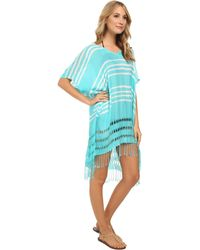 Seafolly Utopia Kaftan Cover-up - Lyst