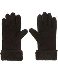 Karen Millen - Sheepskin Glove - Lyst