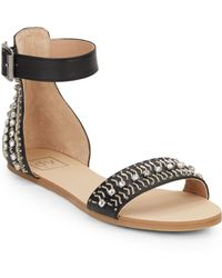 DV by Dolce Vita | Lou Lou Embellished Faux Leather Sandals | Lyst