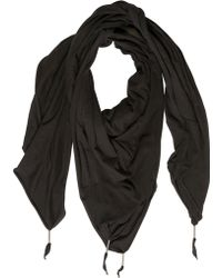Silent - Damir Doma - Patchwork Cotton Jersey Scarf - Lyst