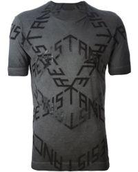 Diesel Black Gold Toriciy Resistance Cotton T-Shirt - Lyst