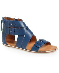 Gentle Souls 'Blessie' Leather Sandal - Lyst
