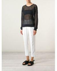 Forte Forte Sheer Woven Sweater - Lyst