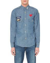 Human Made Military Chambray Shirt - Blue