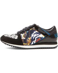 Kenzo Tiger Sneakers - Lyst