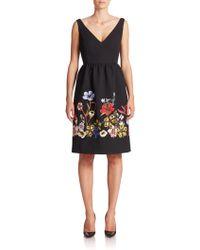 Erdem   Dora Cloque Embroidered Dress   Lyst