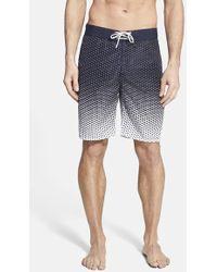 Victorinox - 'guard' Print Board Shorts - Lyst