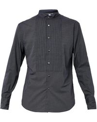 John Varvatos Pindotprint Cotton Shirt - Lyst