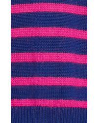 Stella jean Striped Wool Sweater in Brown | Lyst