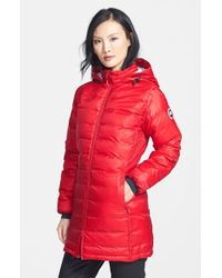 Canada Goose 'Camp' Hooded Down Jacket - Lyst