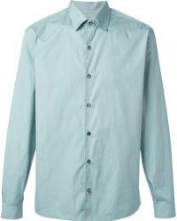 Ferragamo Classic Collar Shirt - Lyst