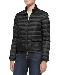Moncler Lans Short Quilted Jacket - Lyst