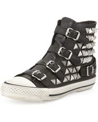 Ash Vice Studded Hitop Sneaker - Lyst