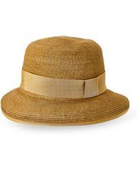 Hermes Hermãs Natural Rolled Brim Sun Hat - Lyst