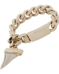 Givenchy Shark Tooth Pendant Bracelet - Lyst