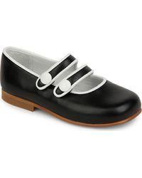Stella McCartney Monochrome Ballet Shoes - Lyst