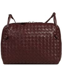 Bottega Veneta Handbag Shoulder Flat Square Woven - Lyst