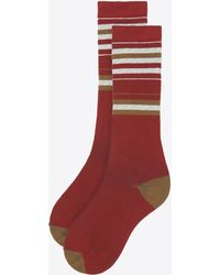 Billy Reid | Skyline Stripe Sock | Lyst