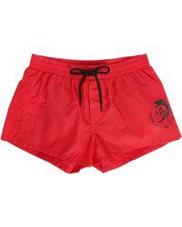 DIESEL   Red Sandy Hiroquoi Swim Shorts   Lyst