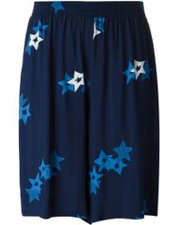 See By Chloé 'Stardust' Printed Culottes - Lyst