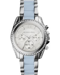 Michael Kors Blair Stainless Steel Glitz Watch - Lyst