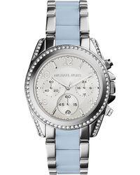 Michael Kors Blair Stainless Steel Glitz Watch - Lyst