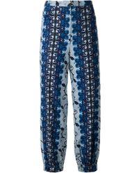 Duro Olowu - High Waist Batik Print Trousers - Lyst