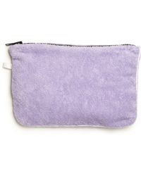 Lisa Marie Fernandez - Terry Cotton Pouch - Lyst