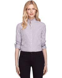 Brooks Brothers Noniron Tailored Fit Ruffle Collar Dress Shirt - Lyst
