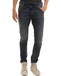 Diesel Krooleyne Jog Blue Jeans - Lyst