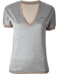 DSquared2 Logo Plaque T-Shirt - Lyst