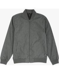 Obey Attendant Jacket black - Lyst