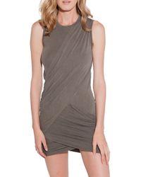 Stateside Twisted Drape Dress - Lyst
