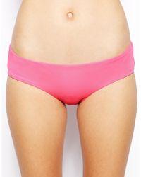 Asos Mix and Match Deep Hipster Bikini Pant - Lyst