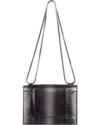 3.1 Phillip Lim Snake-stamped Soleil Mini Shoulder Bag - Lyst