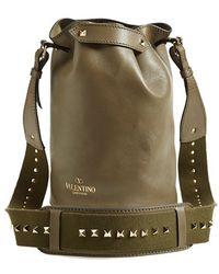 Valentino 'Rockstud' Bucket Bag - Lyst