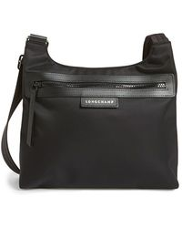 Longchamp 'Le Pliage - Neo' Crossbody Bag black - Lyst