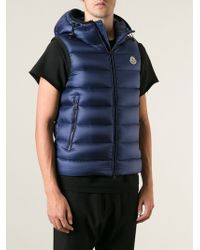 Moncler Ray Padded Gilet - Lyst