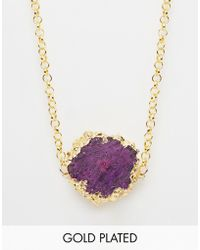 Only Child - Nly Child Kaleido Crystal Necklace - Lyst