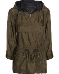 Burberry Brit Packaway Drawstring Shell Jacket - Lyst